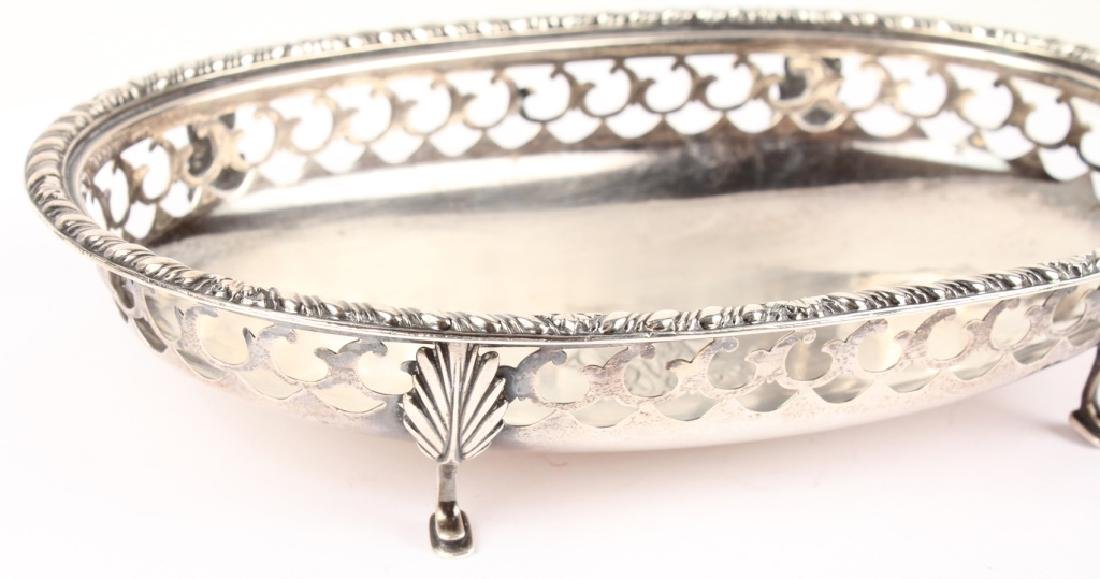 GORHAM STERLING SILVER RETICULATED DISH - 4