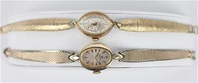 LADIES 14K GOLD FILLED OMEGA  LONGINES WATCHES