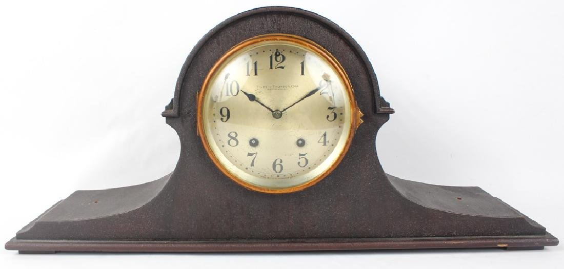 SETH THOMAS VENEER MANTEL CLOCK
