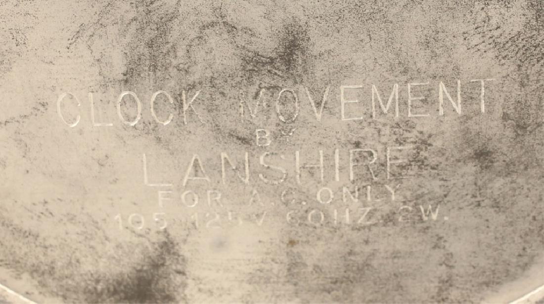 LANSHIRE PORCELAIN MANTLE CLOCK - 5
