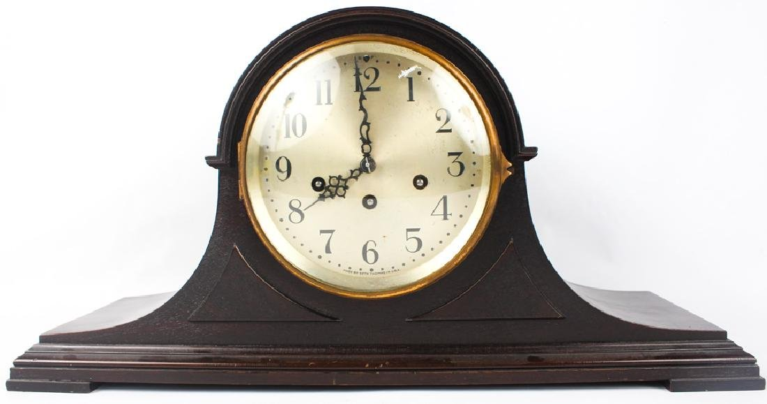 SETH THOMAS MANTEL CLOCK 19TH C.