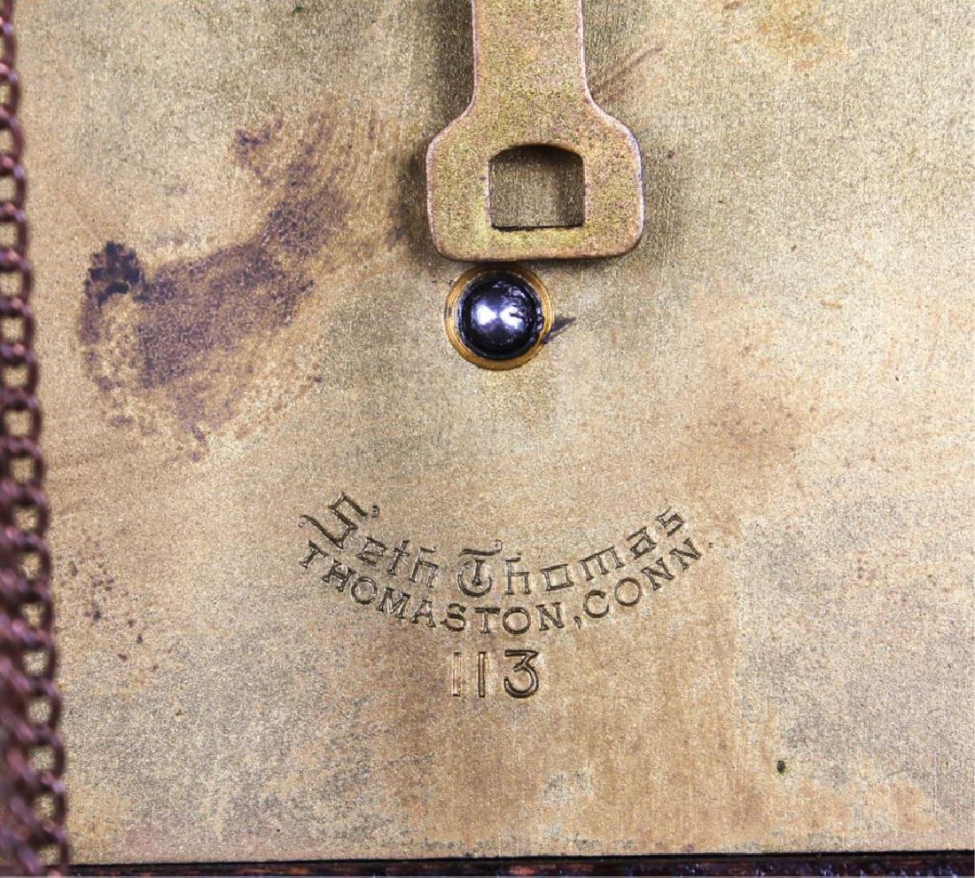SETH THOMAS MANTEL CLOCK 19TH C. - 4