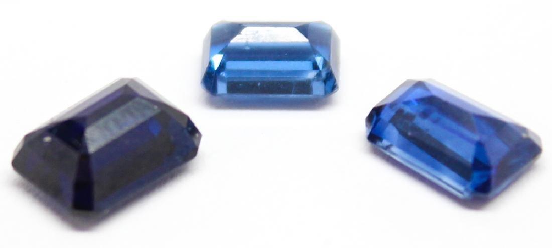 .40CT & TWO .93CT BLUE KYANITE GEMSTONES - 2