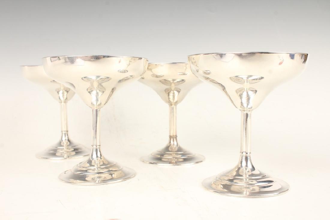STERLING SILVER WEBSTER SHERBET CUPS - LOT OF 4