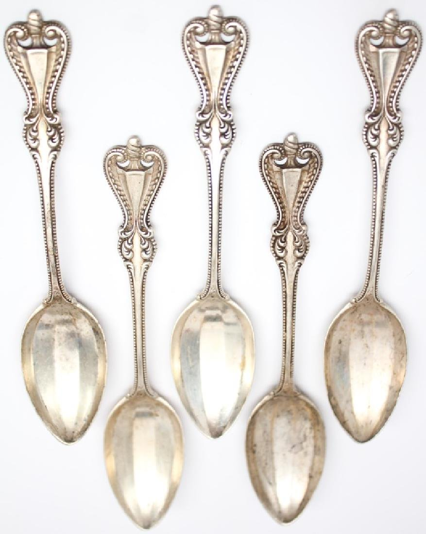 STERLING SILVER TOWLE OLD COLONIAL SPOON LOT
