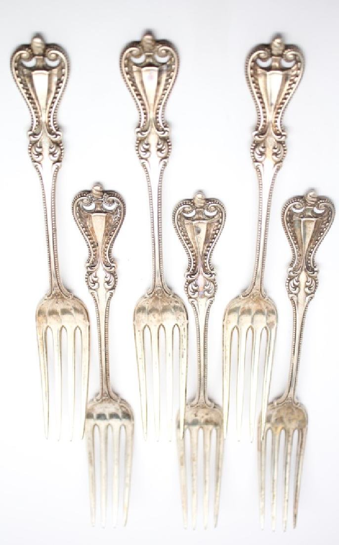 STERLING SILVER TOWLE OLD COLONIAL FORK LOT