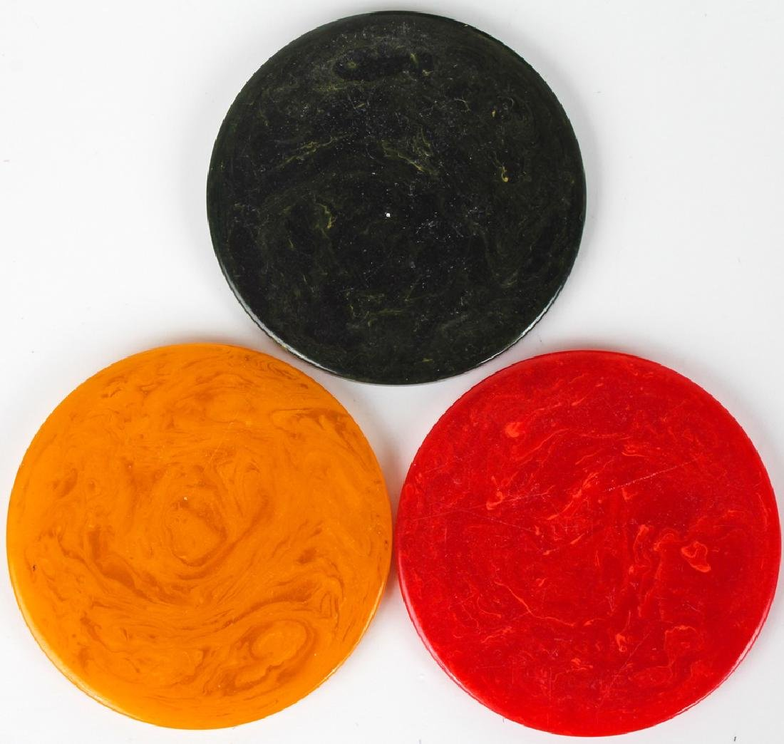 BAKELITE GAMING CHIPS - 2