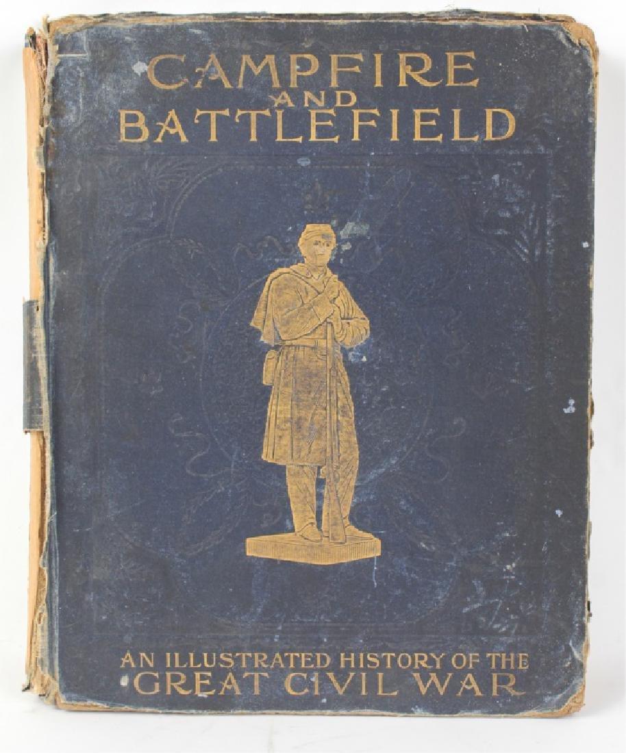 CAMPFIRE AND BATTLEFIELD BOOK 1894 - CIVIL WAR