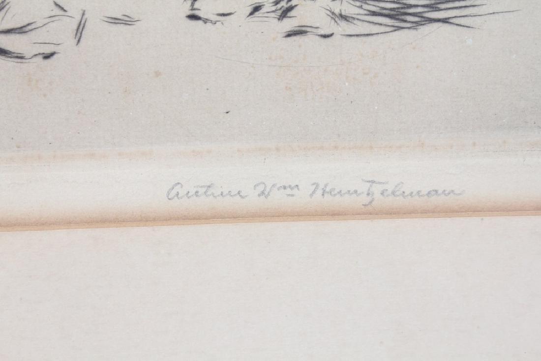 """FAMILIE SWISSE"" ETCHING BY ARTHUR HEINTZELMAN - 3"