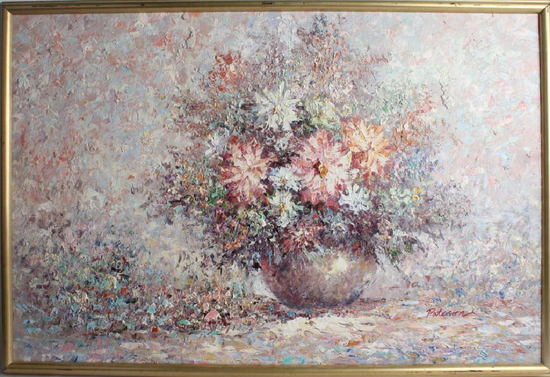 IMPRESSIONISTIC OIL STILL LIFE PAINTING PATTERSON