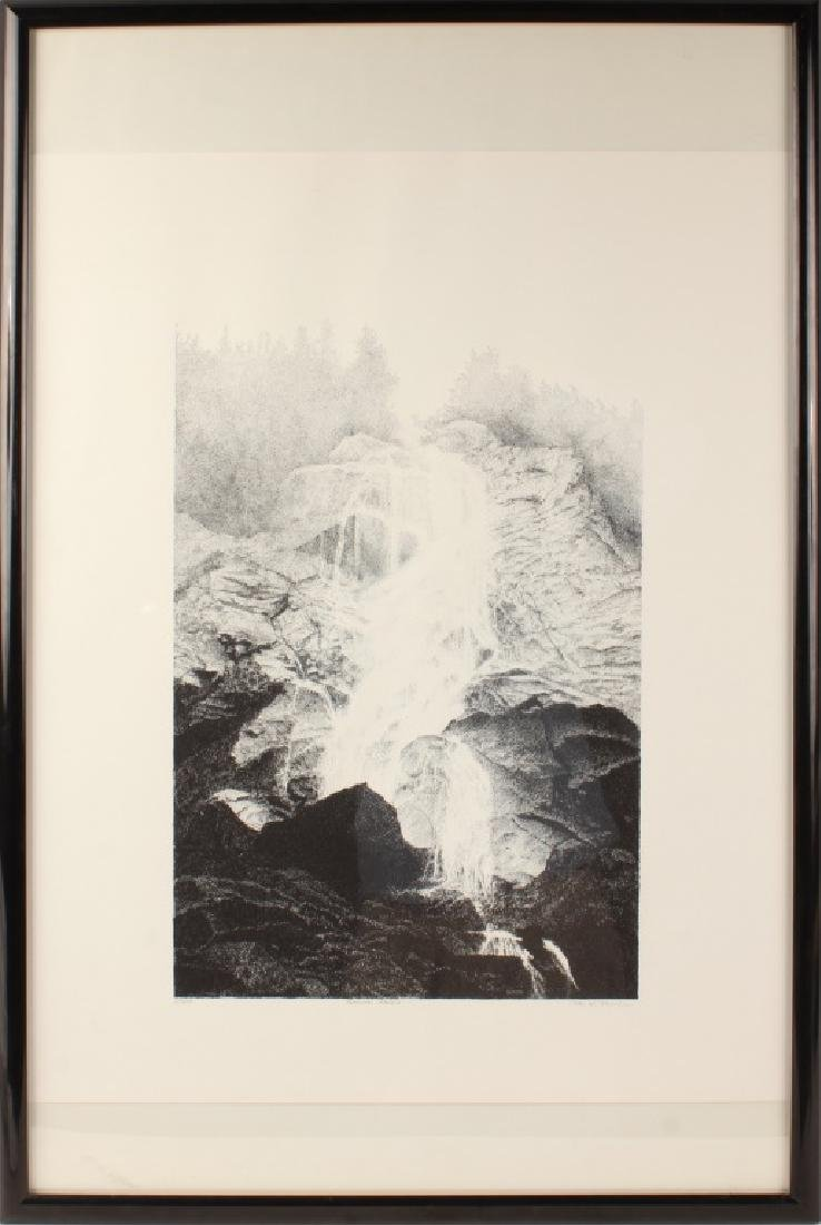 SHANNON FALLS LIMITED EDITION SIGNED PRINT