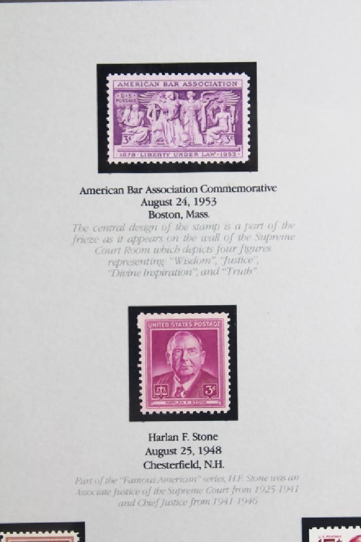 STAMPS OF LAW LIMITED EDITION FRAMED PRINT - 3