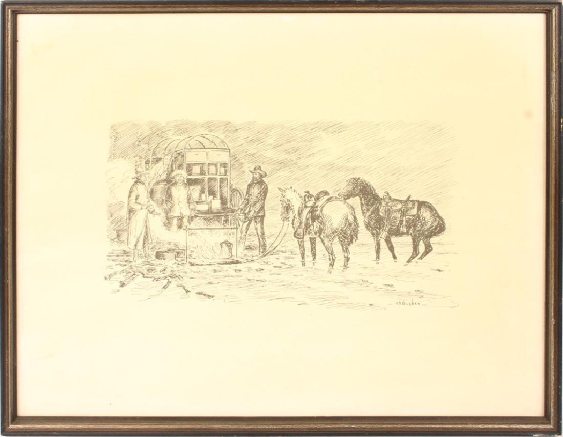 H.D. BUGBEE CAMPSITE PRINT