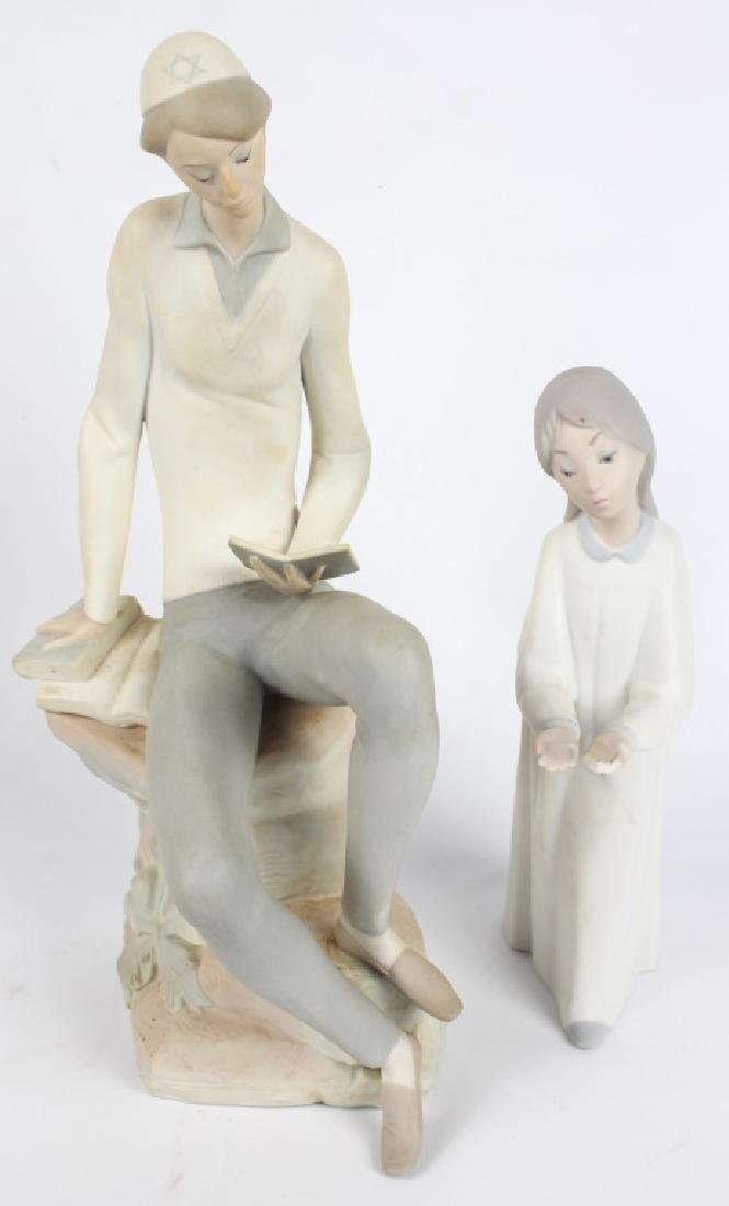 LLADRO SPAIN PORCELAIN FIGURINES - LOT OF 2