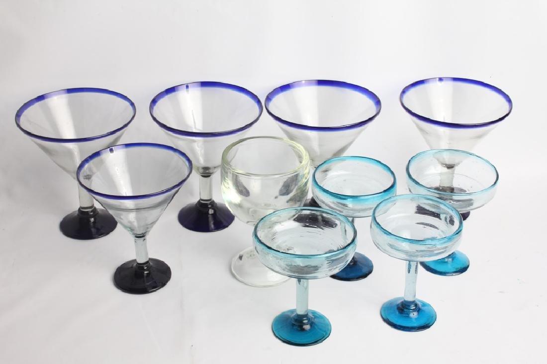 MARGARITA GLASSES - LOT OF 10