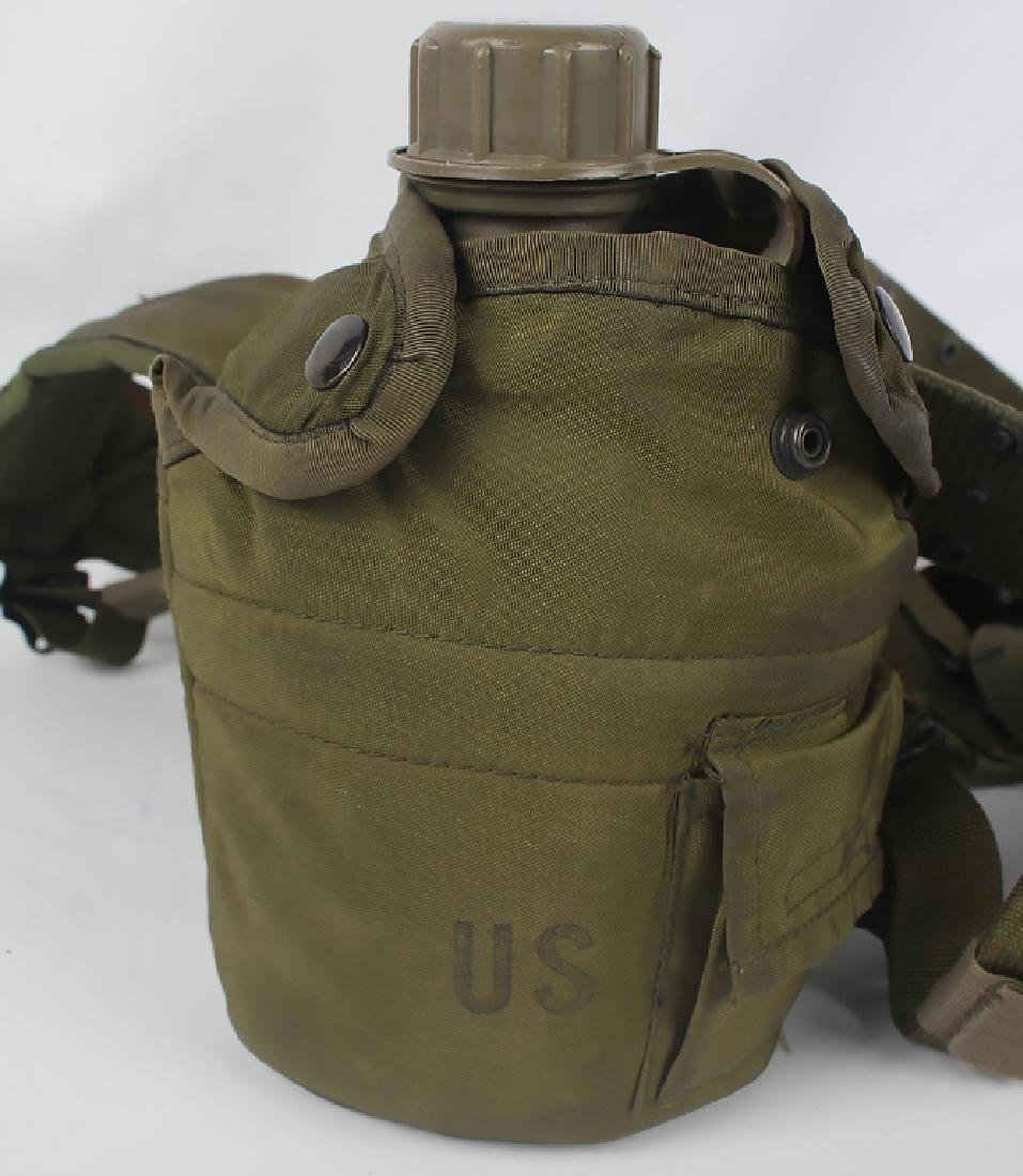 UNITED STATES MILITARY KIT KNIFE & CANTEEN - 2