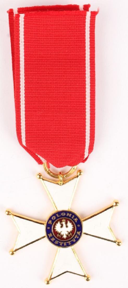 POLISH ORDER OF POLINIA RESTITUTA MEDAL
