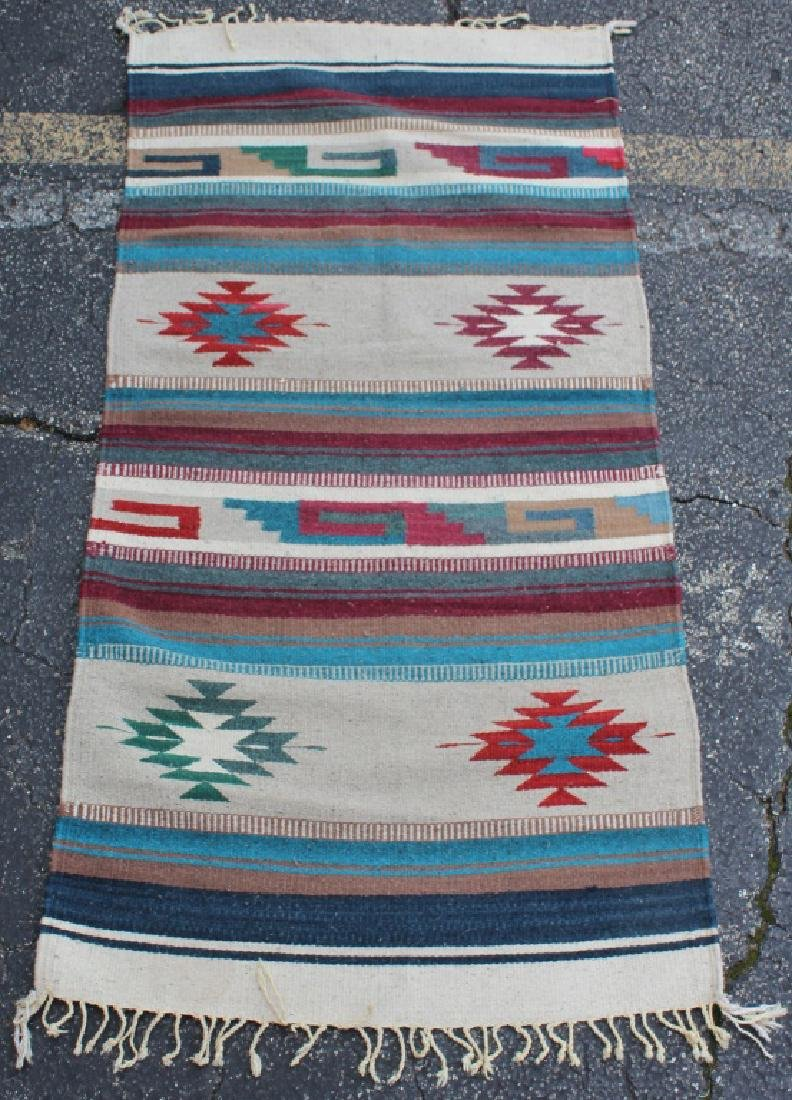 MEXICAN ZAPOTEC WOOL RUG