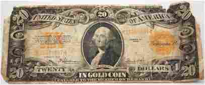 2000 UNITED STATES GOLD SEAL WASHINGTON NOTE