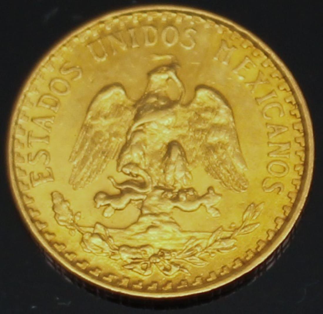 DOS PESO MEXICAN 1920 GOLD COIN