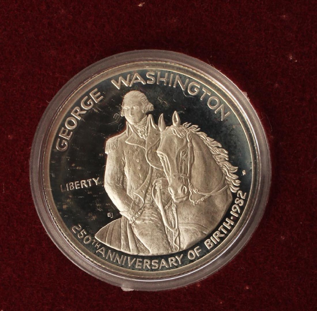 BOX OF 10 U.S. COMMEMORATIVE WASHINGTON HALVES - 3