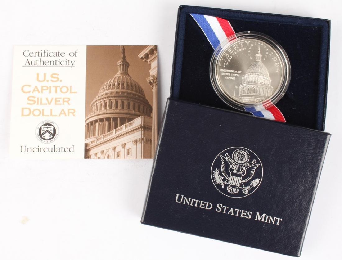 1994 COMMEMORATIVE U.S. CAPITOL SILVER DOLLAR