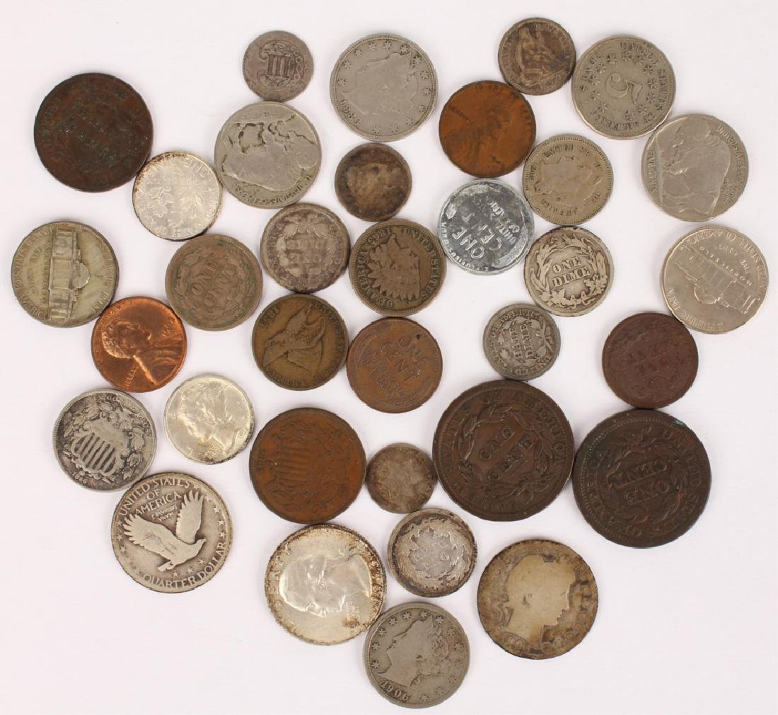 UNITED STATES TYPE COINAGE - MIXED LOT