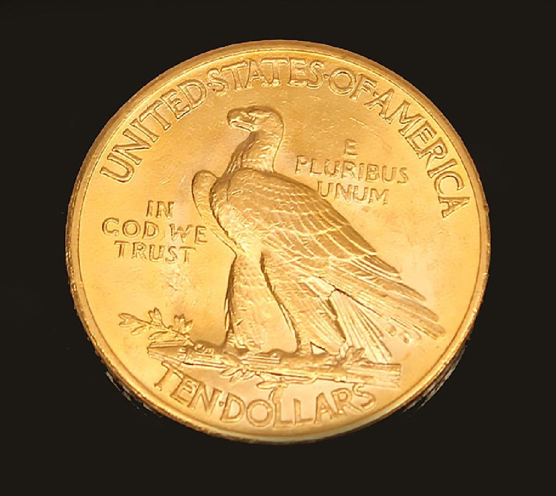 $10.00 U.S. GOLD INDIAN PRINCESS 1926 EAGLE COIN - 2