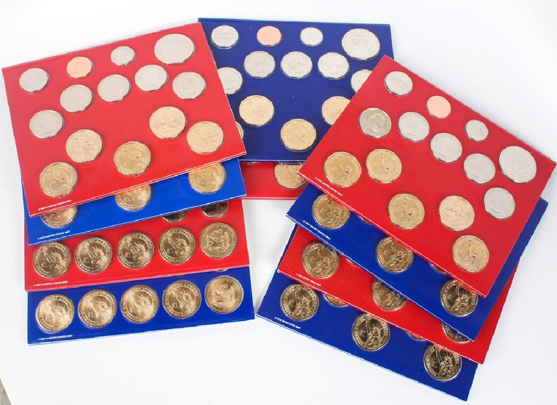 2009 - 2013 UNITED STATES MINT UNCIRCULATED SETS