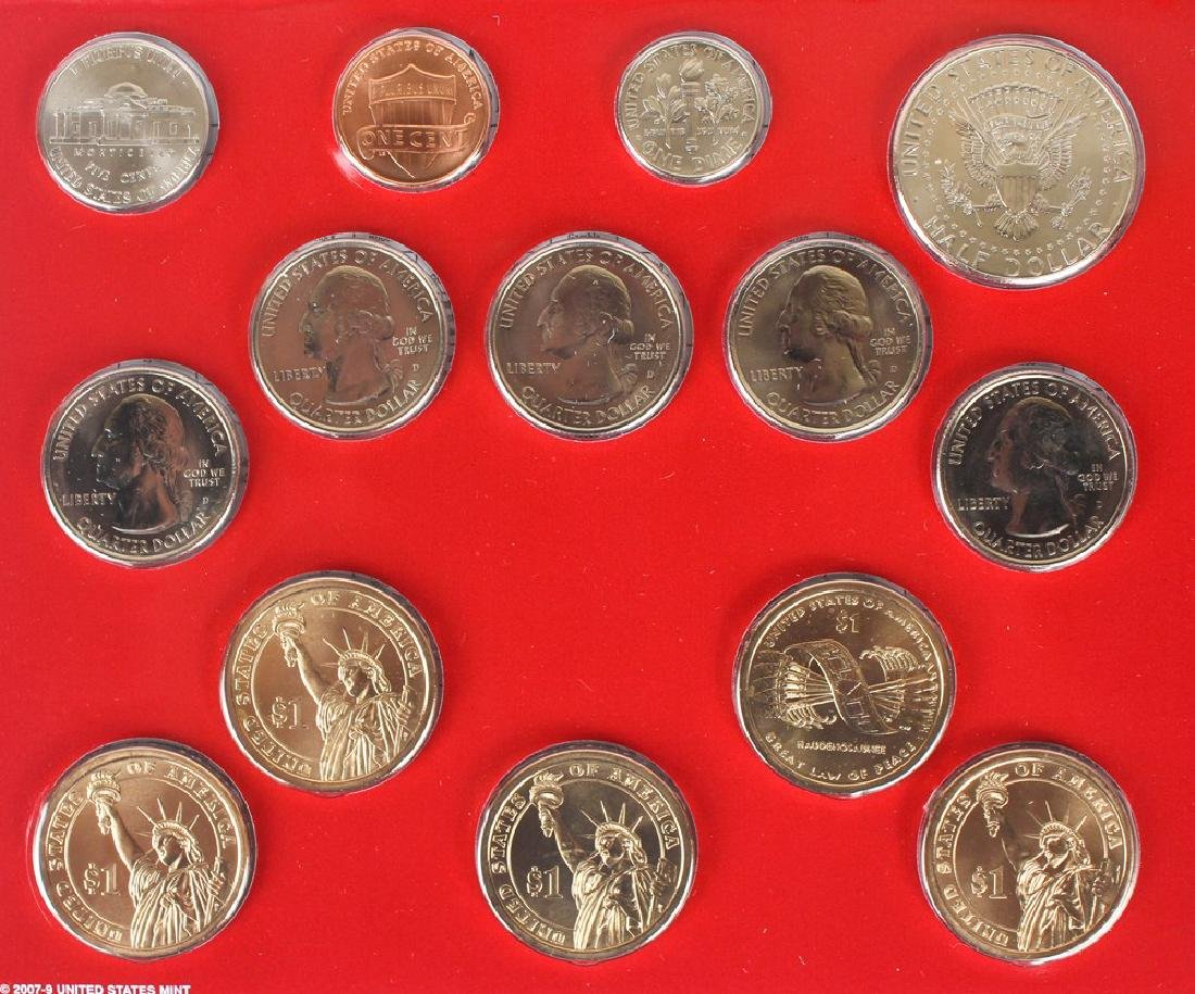 2009 - 2013 UNITED STATES MINT UNCIRCULATED SETS - 2