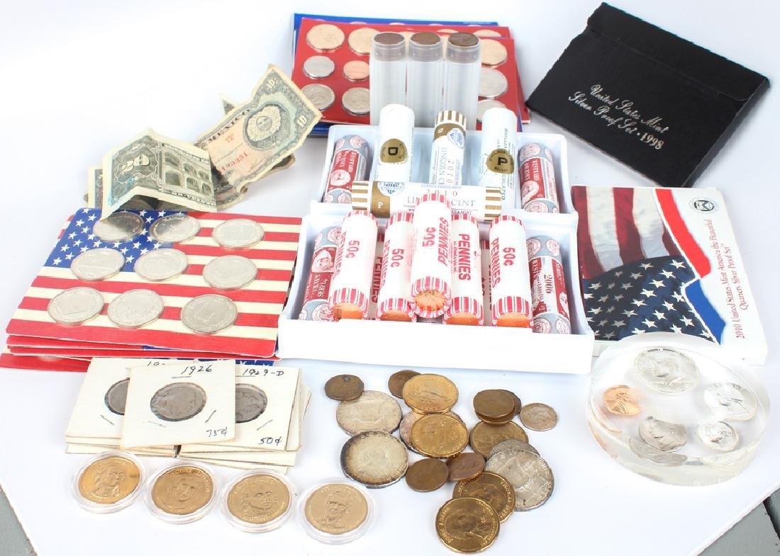 UNITED STATES COINAGE - LARGE MIXED LOT