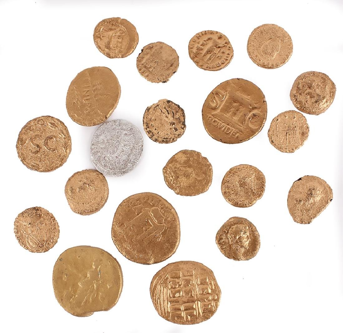 (20) ASSORTED ANCIENT ROMAN COINS