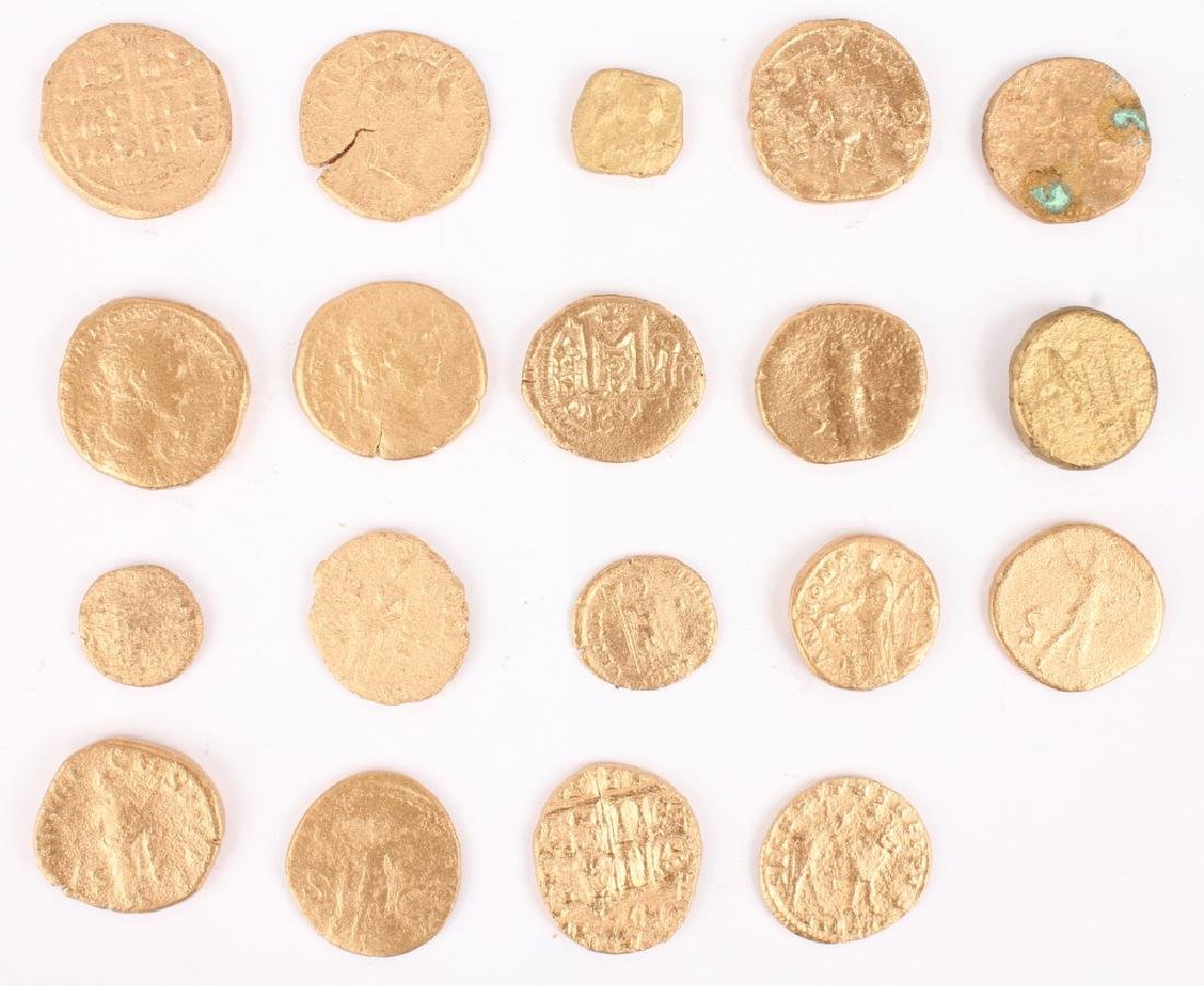 (19) ASSORTED ANCIENT ROMAN COINS - 6