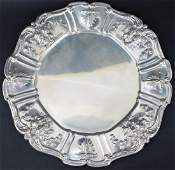 REED & BARTON FRANCIS I STERLING SERVICE PLATE