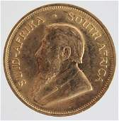 1980 SOUTH AFRICAN ONE OZ. KRUGERRAND GOLD COIN