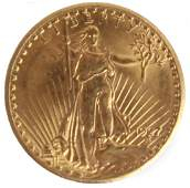 $20.00 UNITED STATES 1927 ST. GAUDENS GOLD COIN