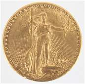 $20.00 UNITED STATES 1928 ST. GAUDENS GOLD COIN