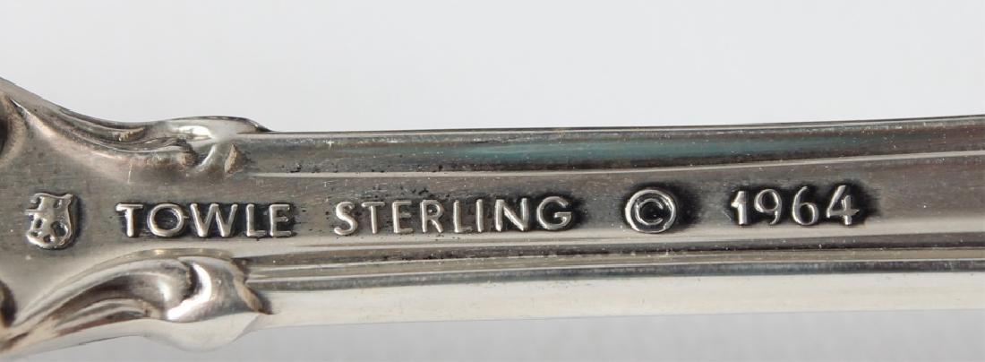 TOWLE EL GRANDEE STERLING SILVER FLATWARE - 2
