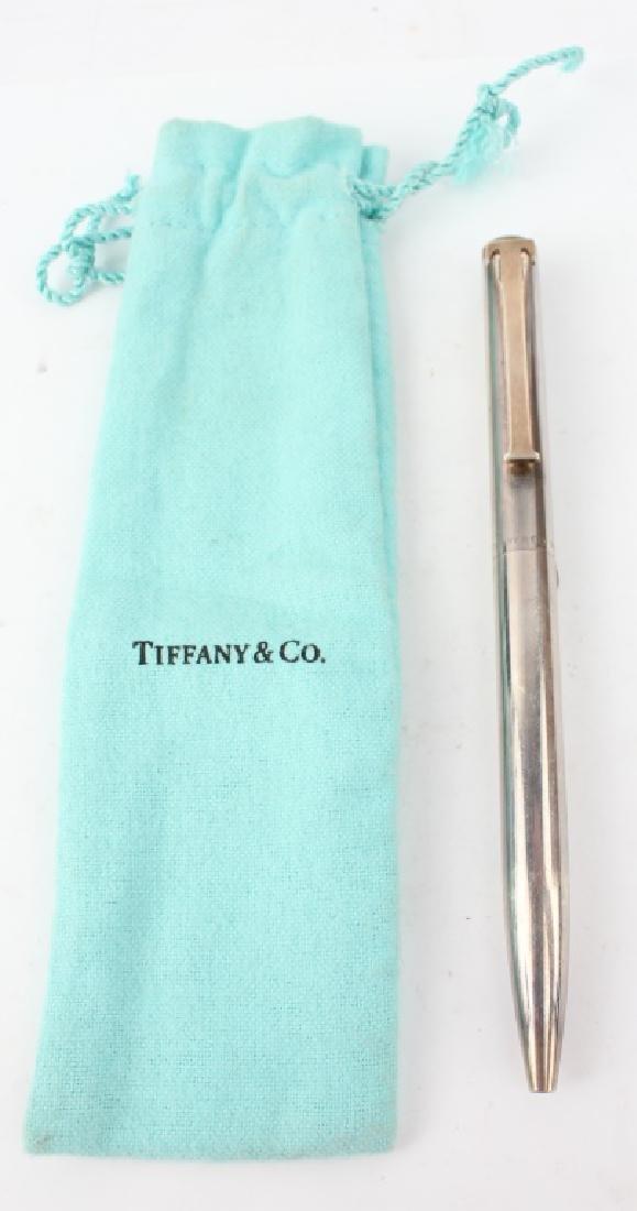 TIFFANY & CO. STERLING CASE PEN
