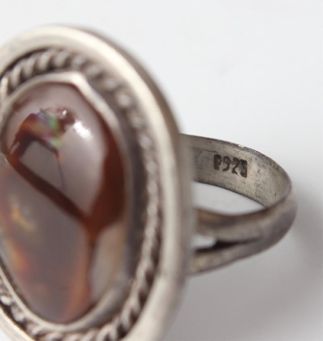 STERLING SILVER RINGS - LOT OF 6 - 5
