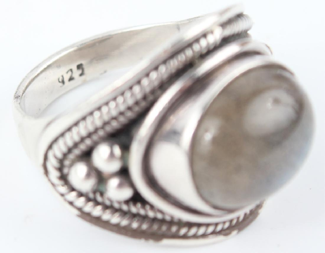 STERLING SILVER RINGS - LOT OF 6 - 2