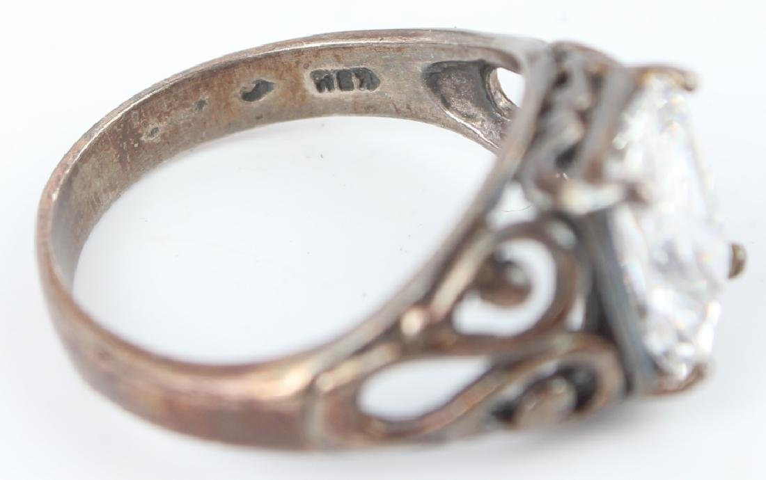 STERLING SILVER RINGS - LOT OF 6 - 4