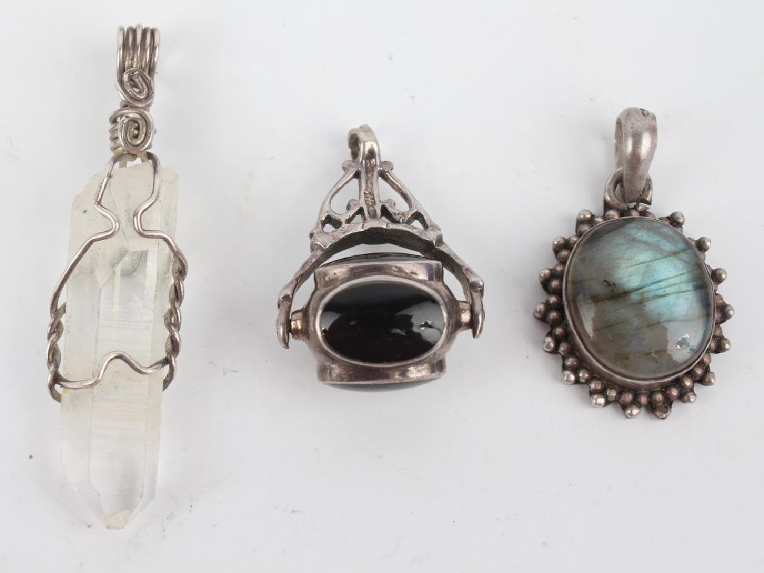 STERLING SILVER JEWELRY - LOT OF 9 - 2