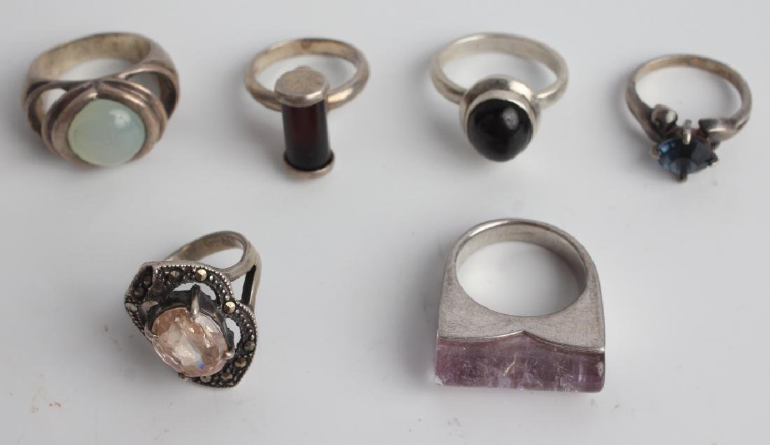 STERLING SILVER JEWELRY - LOT OF 9 - 4