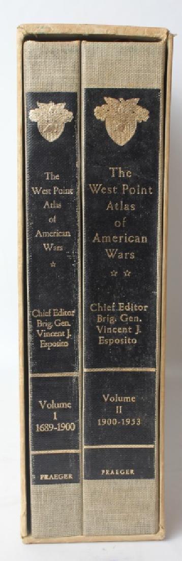 THE WEST POINT ATLAS OF AMERICAN WARS VOL I & II