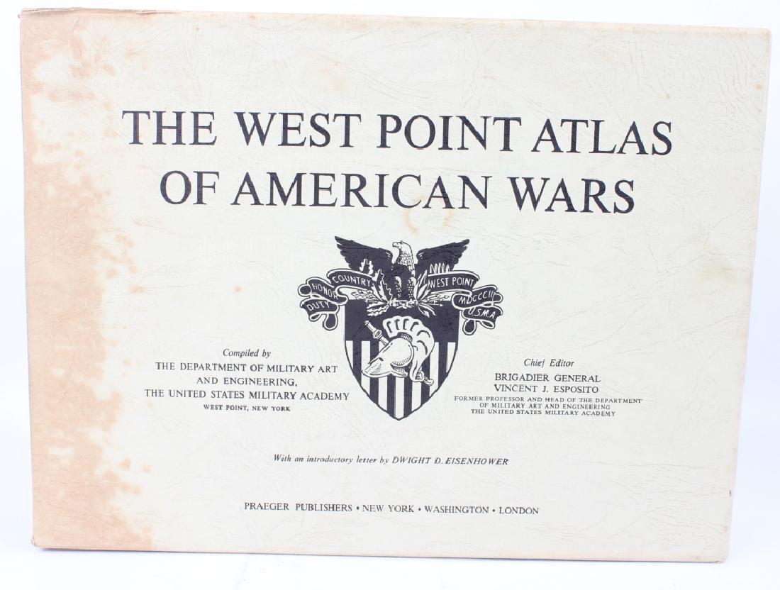THE WEST POINT ATLAS OF AMERICAN WARS VOL I & II - 2
