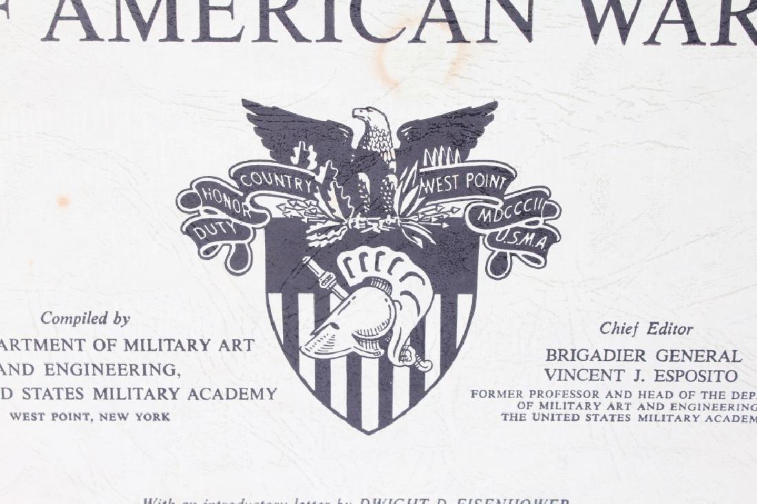 THE WEST POINT ATLAS OF AMERICAN WARS VOL I & II - 3