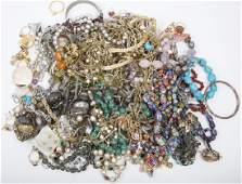 VARIED COSTUME JEWELRY  5LBS