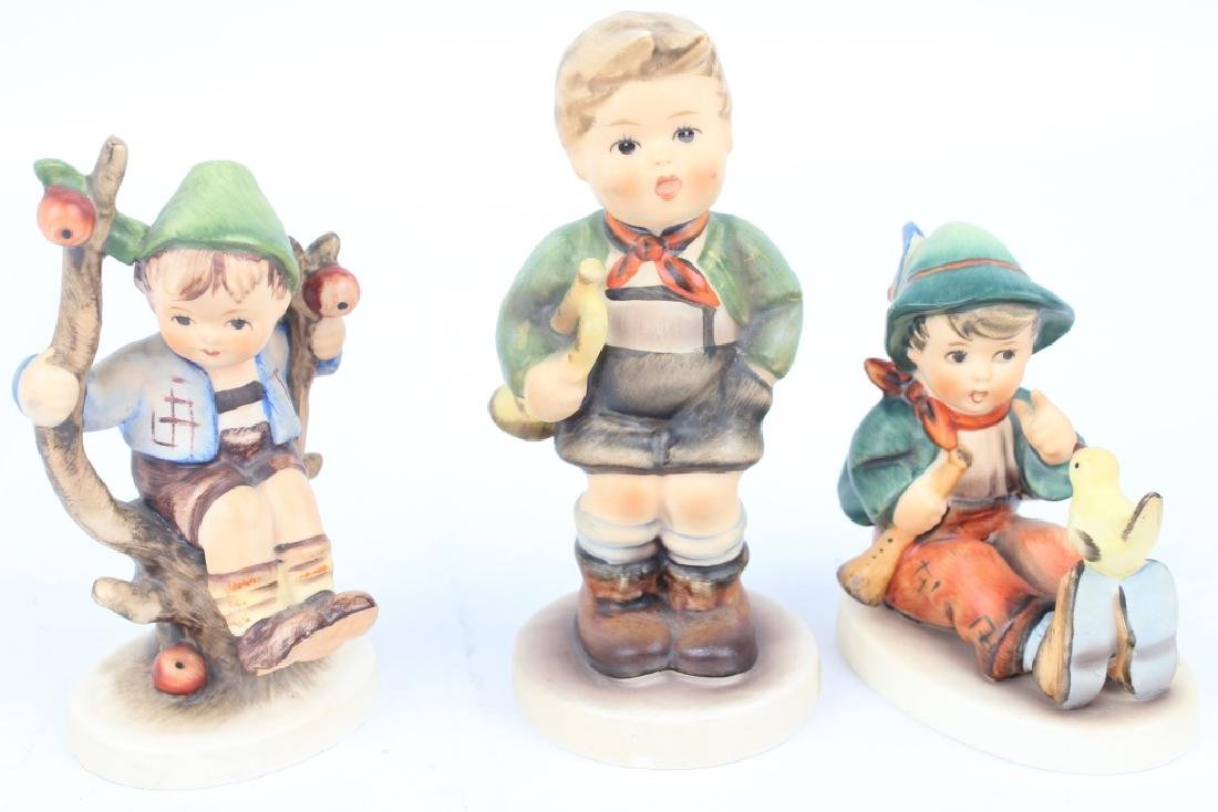 HUMMEL FIGURINES LOT OF THREE