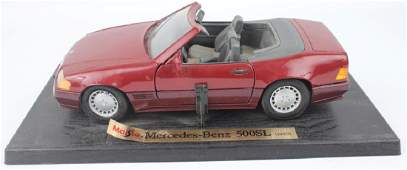 1989 MERCEDES-BENZ 500SL VINTAGE SCALE MODEL